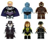 Watchmen Minifigures (Set of 6) - Custom Designed Minifigures
